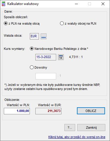 838c46f2bd2174 DuoKomp Kalkulatory - Dokumentacja programu - Rozdział 9 ...